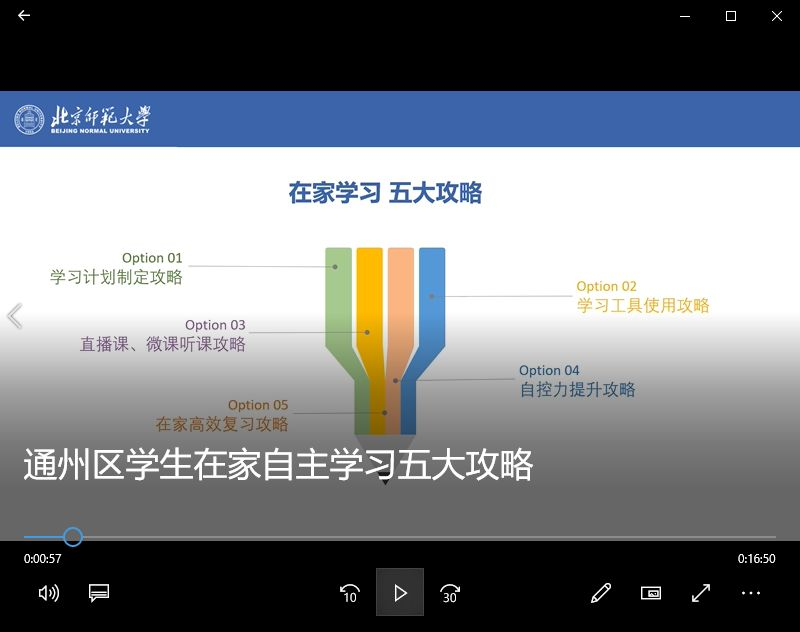 网络研修如何搞?北京城市副中心网络研修新样态